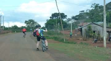 Hike and bike to Langbian