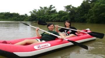 1 Day bike & raft to Nha Trang